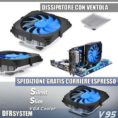 Dissipatore in Alluminio Deepcool V95 Con Ventola 100mm Per Schede Video Nvidia