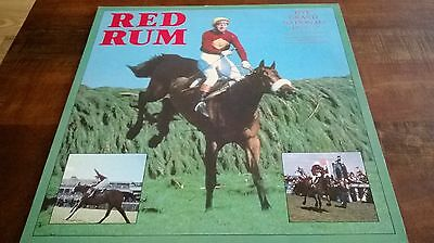 Red Rum - Five Grand Nationals As They Happened 1973-77 Lp Record + Insert