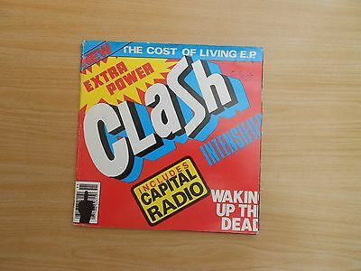 The Clash=The Cost Of Living E.p. (With Insert)  P/c  Ex