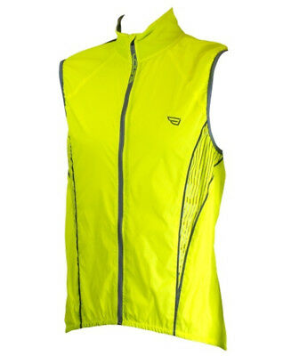 Volta Highviz Bike Vest Fluorescent Yellow