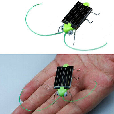 MINI Solar Power Energy Cockroach Insect Toy for Kids Baby Have Fun Gadget Toys