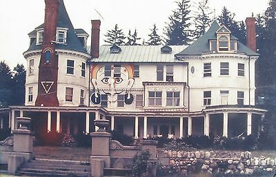 VERY RARE TIMOTHY LEARY's PSYCHEDELIC MANSION Photograph  - Millbrook 1964-65.