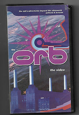 The Orb Aadventures Beyond The Ultraworld Patters And Textures Vhs 1St Print