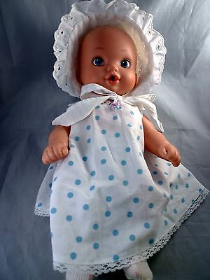 """Lauer Toys 2012 Water Babies 12"""" Water Baby Doll Original Clothes Cries Playmate"""