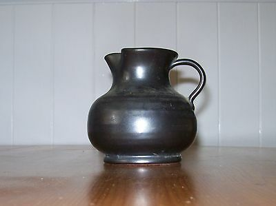 Vintage 'Prinknash' Pottery Milk/Cream  Jug in slate grey glaze