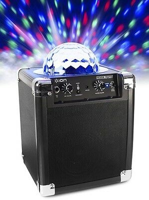 ION House Party Portable Sound System with Built-In Light Show (Black) - Misc