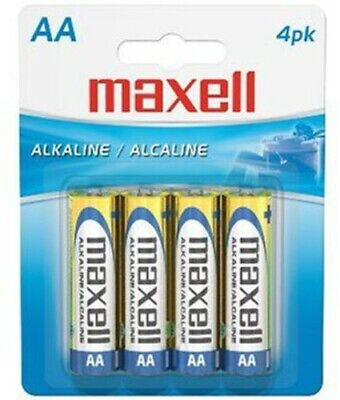 "Maxell ""Aa"" Alkaline Battery-4Pk Blister(Lr6) - Accessories"