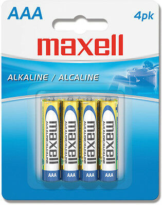 "Maxell ""Aaa"" Alkaline Battery-4Pk Blister(Lr03) - Accessories"
