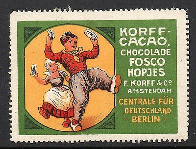 Germany Chocolate Advertising poster stamp