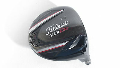 Titleist 913D2 9.5* Driver -Head Only- w/ Adapter