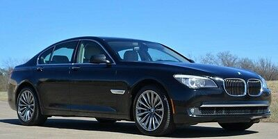 2012 BMW 7-Series 740i Sedan 2012 740i Immaculate One Owner BMW Maintenance Included to 100,000 Miles!