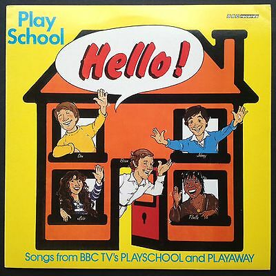HELLO! Songs From Play School Play Away BBC TV soundtrack OST LP 1981 Brian Cant