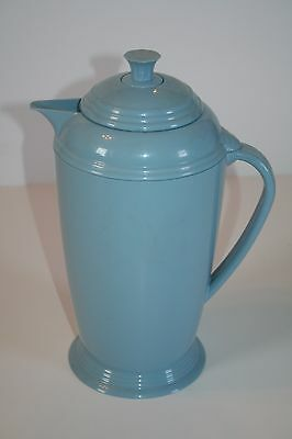 Fiesta Blue Coffee Carafe Pot Insulated Thermos Glass Interior Accessories Homer