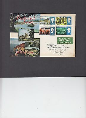 1966 Landscapes (Phosphor) First Day Cover relevant Colliers Wood CDS. Cat £125