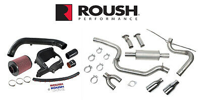 2013-2017 Ford Focus ST Roush Cat Back Exhaust & Cold Air Engine Intake Kit