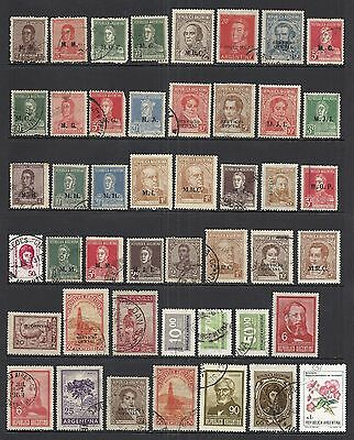 Argentina - Various Mint & Used - Old Collection - 1.6 Pages  (Lot 5)