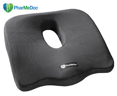PharMeDoc Coccyx Cushion - Black