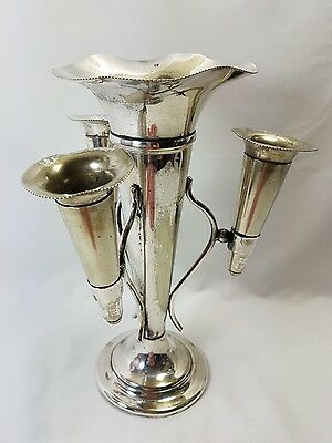 Antique Silver Plated  Epergne Table Centrepiece Early 1900S