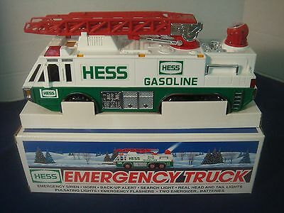 1996 Hess Toy Emergency Truck~Original Box Never Played With~Excellent Condition