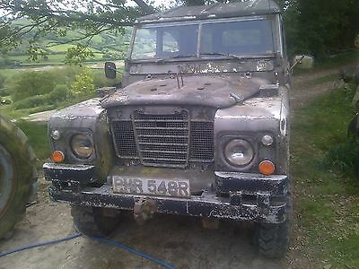 Barn Find Landrover 109 1976 FFR Military LWB  24 volt series 3  Tax Exempt ARMY