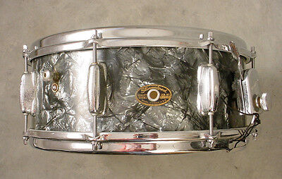 60's SLINGERLAND 14x5.5 BLACK DIAMOND PEARL SNARE DRUM