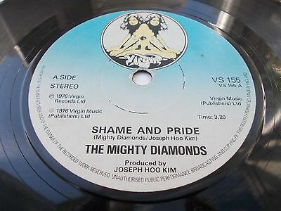 The Mighty Diamonds - Shame And Pride 7' 1976 Virgin Listen