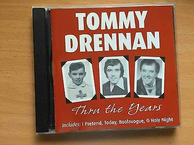 Tommy Drennan Through The Years CD Irish Showband Monarchs