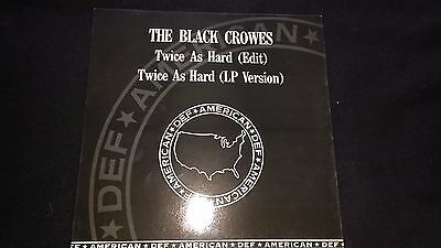 "THE BLACK CROWES - Twice As Hard - 12"" Vinyl Single *Promo*"