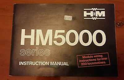 Unused Hammant & Morgan H&m 5000 Series Instruction Manual Booklet 40 Pages