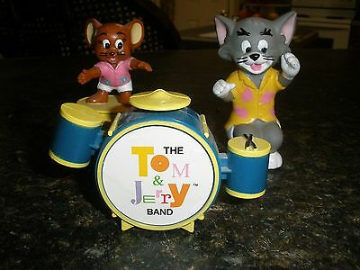 1989 McDonald's Happy Meal Toys TOM & JERRY BAND Loose Figures 3 PC