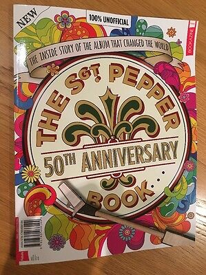 The Beatles Sgt Pepper 50th Anniversary Book New Special Magazine