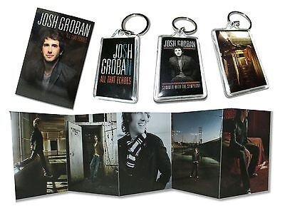 Josh Groban Awake Echoes Summer 5 Piece Gift Set New Official Postcards & More!!