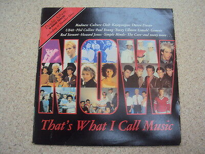 NOW That's What I Call Music 1 VINYL LP Acceptable / Good Condition RARE 80's