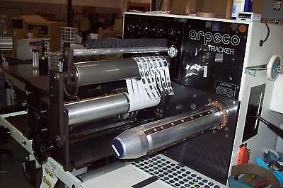 Arpeco Tracker Slitter Rewinder Counting Unit w/attachments and accessories