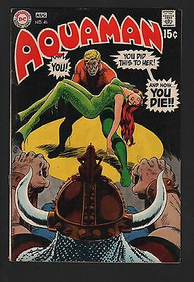 Aquaman #46 VG- 3.5 Cream to Off White Pages