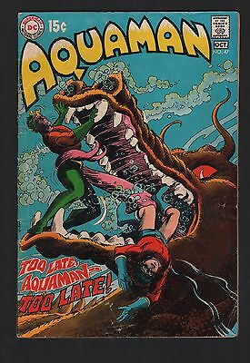Aquaman #47 G/VG 3.0 Cream to Off White Pages