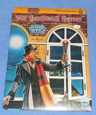 """Vintage """" The Hartlewick Horror """"  Fasa:  Doctor Who Book,  Sealed (1985) Mip"""