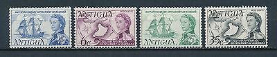 Antigua 195-8 MNH, Settlement of Barbuda