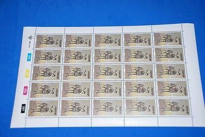Wild Dog MNH SC 448 Complete Sheet of 25, SWA South West Africa