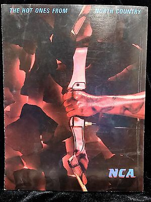 North Country Archery 1987 Tri-Fold Catalog Rugged Bows for Rugged People