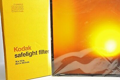Kodak Dark room Safelight Filter 10x12 inch - Amber