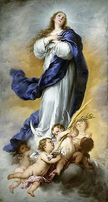 Blessed Virgin Mary of the Assumption Oil Painting Printed on canvas L640
