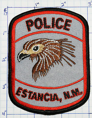 New Mexico, Estancia Police Dept Rooster Patch