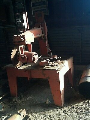 Radial Arm Saw  3 Phase 5HP  18 inch blade   heavy duty   lot of power franklin