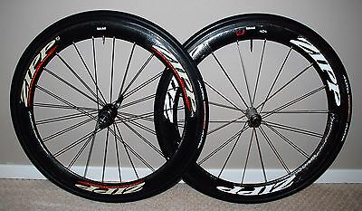 Zipp 404 tubular road bike wheels 700c Dimpled Tufo Tires Dura Ace 9000 11 Speed