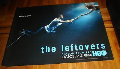 HBO The LEFTOVERS Season 2 HBO 5FT subway POSTER 2015 RARE Justin Theroux