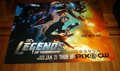 DC'S LEGENDS OF TOMORROW 5FT SUBWAY POSTER 2016 Brandon Routh Wentworth Miller