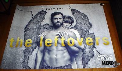 HBO The LEFTOVERS Final Season 3 HBO 5FT subway POSTER 2017 RARE Justin Theroux