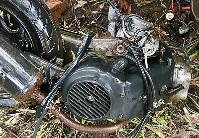125cc Scooter Motor And Gearbox From A TGB Scooter