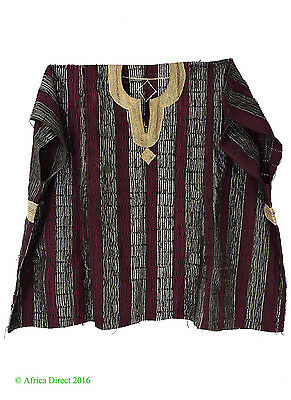 Hausa Grand Boubou Outfit with Shorts Violet Nigeria Africa SALE WAS $225.00